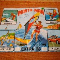 Figuras de Goma y PVC: MONTA- MAN EXTRA 28. MONTA PLEX. SOBRE CERRADO, NUEVO.. Lote 221700617