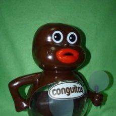 Figuras de Goma y PVC: DIVERTIDO MUÑECO CONGUITOS FIGURA EXPOSITOR CONGUITO PUBLICIDAD VINTAGE. Lote 221714597