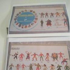 Figuras de Goma y PVC: CATALOGO DE FOTOCOPIAS EN COLOR - DE COMICS SPAIN AÑOS 92 - D. Lote 221721756