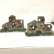 Figuras de Goma y PVC: CASAS DIORAMA PESEBRE BELEN PECH OLIVER NAVIDAD. Lote 221732445
