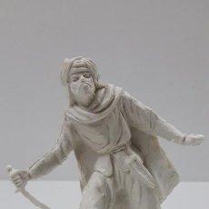 Figuras de Goma y PVC: GUERRERO MORO - SARRACENO . AÑOS 70 . EN PLASTICO MONOCOLOR. Lote 221737968
