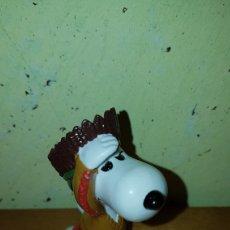 Figuras de Goma y PVC: FIGURA PVC GOMA SNOOPY JEFE INDIO SCHLEICH NUEVO MUÑECO COLECCIÓN AÑOS 80 90 DIBUJOS ANIMADOS. Lote 221744947