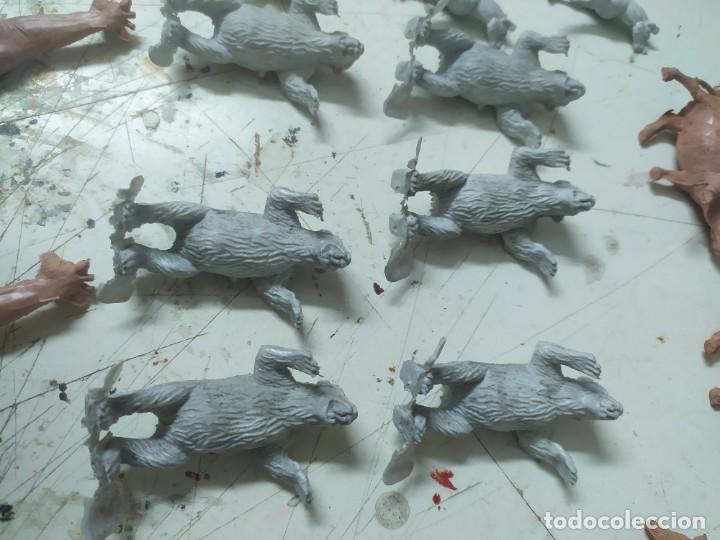 Figuras de Goma y PVC: Lote de figuras pvc comansi primera epoca zoo animales girafa oso polar ñus - Foto 3 - 221749911