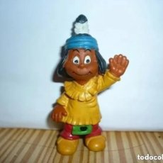 Figuras de Goma y PVC: FIGURA YAKARI - SCHLEICH 1984. Lote 221760961