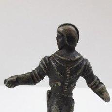 Figuras de Goma y PVC: FIGURA COMANDOS DEL ESPACIO . REALIZADA POR REAMSA . ORIGINAL AÑOS 50 EN GOMA. Lote 221762122