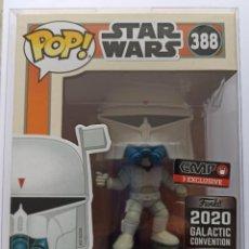 Figuras de Goma y PVC: FUNKO POP! BOBA FETT - CONCEPT SERIES 388 - STAR WARS GALACTIC CONVENTION 2020 + CAJA PROTECTORA. Lote 221769286
