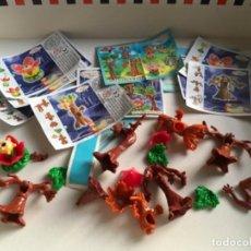 Figuras Kinder: KINDER ÁRBOLES. Lote 221813020