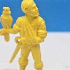 Figuras de Goma y PVC: ANTIGUA FIGURA EN PLASTICO DE GOMARSA. SERIE PIRATAS Y CORSARIOS. 60 MM.. Lote 221836958