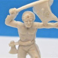 Figuras de Goma y PVC: ANTIGUA FIGURA EN PLASTICO DE GOMARSA. SERIE PIRATAS Y CORSARIOS. 60 MM.. Lote 221837248