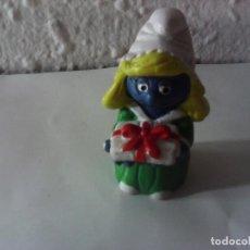 Figuras de Goma y PVC: PITUFINA LOS PITUFOS. Lote 221928015