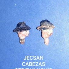 Figuras de Goma y PVC: JECSAN CABEZAS YANQUIS. Lote 221931686