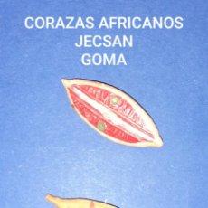 Figuras de Goma y PVC: JECSAN CORAZAS AFRICANOS. Lote 221932436