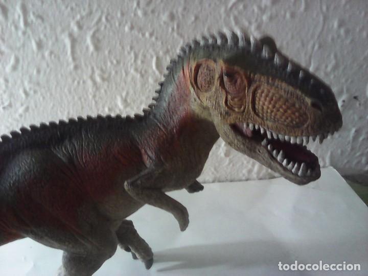 Figuras de Goma y PVC: figura schleich t-rex - Foto 2 - 221938646