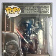 Figuras de Goma y PVC: FUNKO POP! DARTH VADER 343 - LIGHTS & SOUND - STAR WARS + CAJA PROTECTORA. Lote 221948140