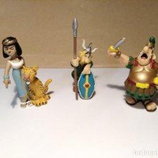 Figuras de Goma y PVC: LOTE 3 FIGURAS SERIE ASTÉRIX Y OBELIX. Lote 221950427