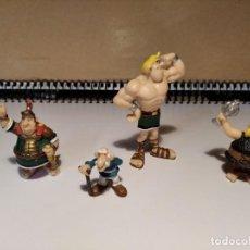 Figuras de Goma y PVC: LOTE 4 FIGURAS SERIE ASTÉRIX Y OBELIX. Lote 221950677