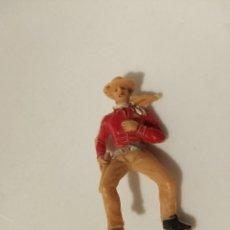 Figuras de Goma y PVC: FIGURA VAQUERO JECSAN. Lote 221971593