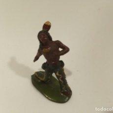 Figuras de Goma y PVC: INDIO REAMSA GOMA. Lote 221975016