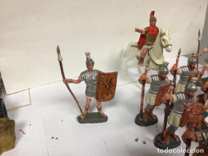 Figuras de Goma y PVC: FORMACION ROMANA OLIVER PECH HERMANOS TRIBUNO LEGION GENERAL SOLDADOS - jecsan reamsa - Foto 4 - 221980862