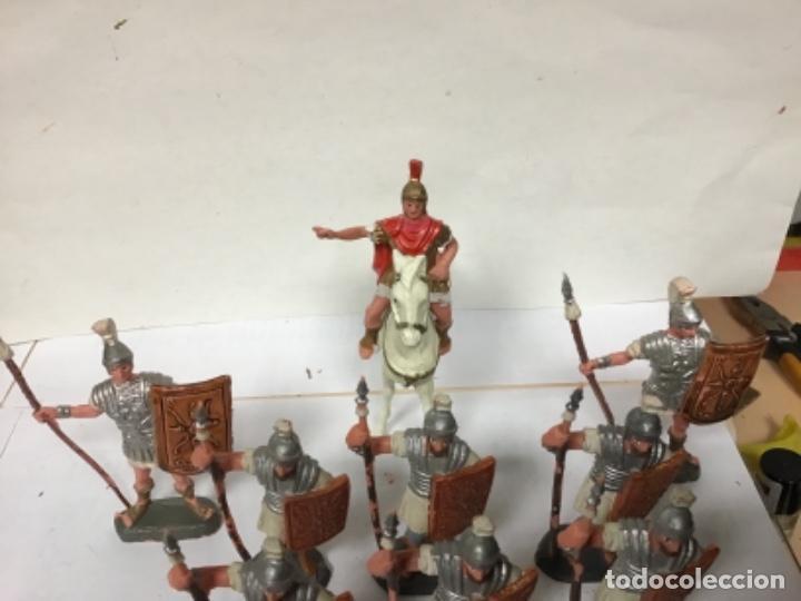 Figuras de Goma y PVC: FORMACION ROMANA OLIVER PECH HERMANOS TRIBUNO LEGION GENERAL SOLDADOS - jecsan reamsa - Foto 5 - 221980862