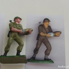 Figuras de Goma y PVC: PECH-OLIVER-AMERICANO EN PLASTICO. Lote 222001610