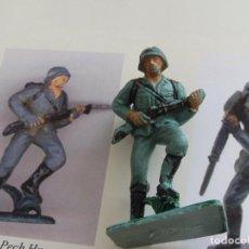 Figuras de Goma y PVC: PECH-OLIVER-ALEMAN EN PLASTICO. Lote 222001692