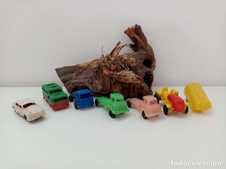 LOTE ANTIGUOS VEHICULOS DE PLASTICO KIOSKO QUIOSCO PIPERO (Juguetes - Figuras de Goma y Pvc - Pipero)