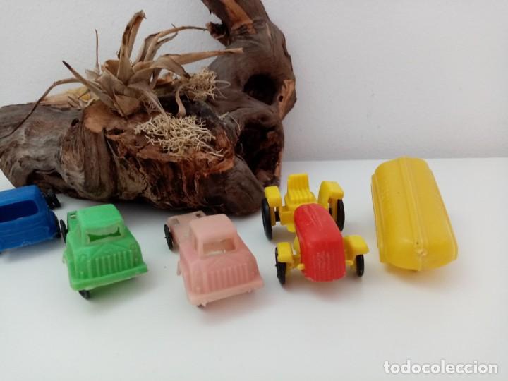 Figuras de Goma y PVC: LOTE ANTIGUOS VEHICULOS DE PLASTICO KIOSKO QUIOSCO PIPERO - Foto 3 - 222013085