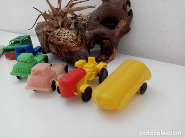 Figuras de Goma y PVC: LOTE ANTIGUOS VEHICULOS DE PLASTICO KIOSKO QUIOSCO PIPERO - Foto 4 - 222013085