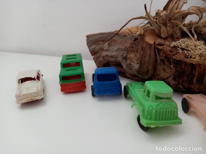 Figuras de Goma y PVC: LOTE ANTIGUOS VEHICULOS DE PLASTICO KIOSKO QUIOSCO PIPERO - Foto 5 - 222013085