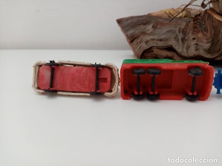Figuras de Goma y PVC: LOTE ANTIGUOS VEHICULOS DE PLASTICO KIOSKO QUIOSCO PIPERO - Foto 8 - 222013085