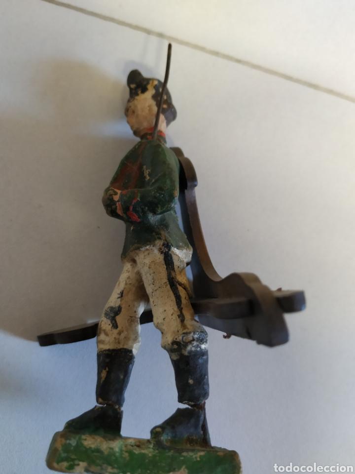 Figuras de Goma y PVC: 2 antiguas figuras elastolin años 20 - Foto 6 - 222013420