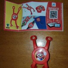 Figuras Kinder: FIGURA KINDER JOY DV552 +BPZ SUPER MARIO BROS NINTENDO MUÑECO COLECCIÓN PREMIUM SORPRESA HUEVO. Lote 222036666