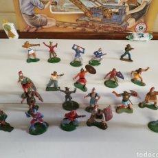 Figuras de Goma y PVC: 25 FIGURAS DE PLÁSTICO O GOMA DURA. Lote 222036975