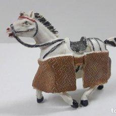 Figuras de Goma y PVC: CABALLO PARA PICADOR . REALIZADO POR TEIXIDO . ORIGINAL AÑOS 60. Lote 222066993