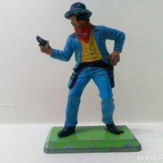 Figuras de Goma y PVC: LOTE BRITAINS 1 COWBOY CON PISTOLAS- PERSONAJE DEL OESTE. Lote 222071312