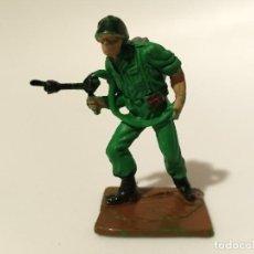 Figuras de Goma y PVC: FIGURA SOLDADO AMERICANO PECH. Lote 222087028