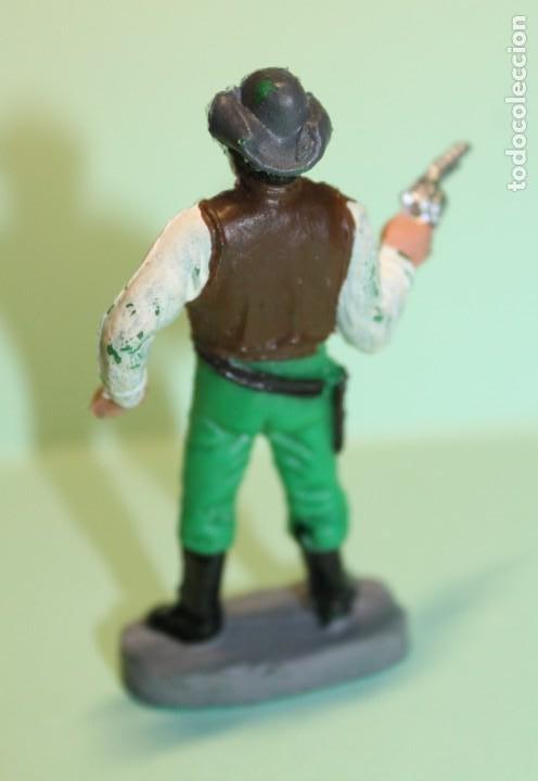 Figuras de Goma y PVC: FIGURA DEL OESTE. HOSS CARTWRIGHT. FABRICADA POR PECH. AÑOS 60-70. VER FOTOS. EXCELENTE. BONANZA. - Foto 2 - 222119357