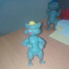 Figuras de Borracha e PVC: FIGURA DE LOS ARISTOGATOS DEL DETERGENTE SKIP - TIPO DUNKIN - AÑOS 70. Lote 222121798