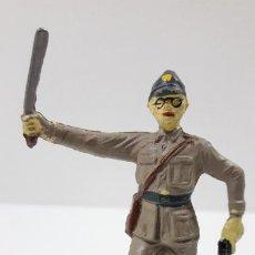 Figuras de Goma y PVC: OFICIAL JAPONES . REALIZADO POR JECSAN . SERIE INFANTERIA JAPONESA . ORIGINAL AÑOS 50 EN GOMA. Lote 222158788