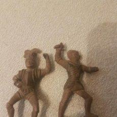 Figuras de Goma y PVC: REAMSA.LOTE DE DOS FIGURAS DE GOMA TORNEOS.. Lote 222167930