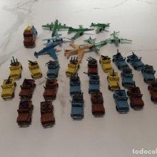 Figuras de Goma y PVC: JEEPS Y AVIONES DE PLASTICO DE QUIOSCO. Lote 222173837