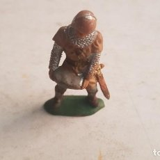 Figuras de Goma y PVC: REAMSA ORIGINAL AÑOS 60 SOLDADO MEDIEVAL, SERIE RICARDO CORAZÓN DE LEÓN. REF. 185.. Lote 222182361