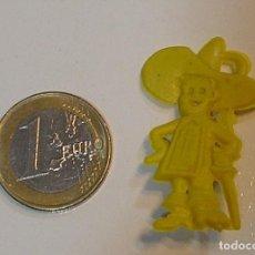 Figuras de Goma y PVC: PIN DE PLASTICO PROMOCION REGALO DE PIPAS CHURRUCA - AÑOS 60 DUNKIN. Lote 222183078
