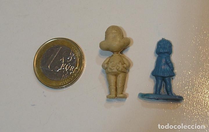 Figuras de Goma y PVC: PIN DE PLASTICO TIPO DUNKIN PROMOCION REGALO DE PIPAS CHURRUCA - AÑOS 60 DUNKIN - Foto 2 - 222184625
