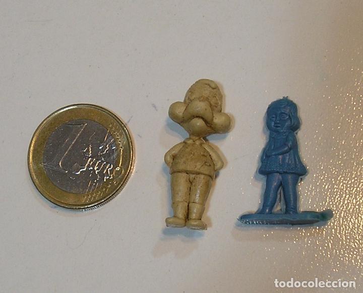 PIN DE PLASTICO TIPO DUNKIN PROMOCION REGALO DE PIPAS CHURRUCA - AÑOS 60 DUNKIN (Juguetes - Figuras de Goma y Pvc - Pipero)