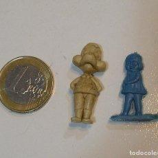 Figuras de Goma y PVC: PIN DE PLASTICO TIPO DUNKIN PROMOCION REGALO DE PIPAS CHURRUCA - AÑOS 60 DUNKIN. Lote 222184625