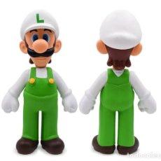 Figuras de Goma y PVC: FIGURA SUPER MARIO BROS - LUIGI FUEGO (24CM) (NINTENDO 2006). Lote 222189877