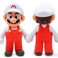 Figuras de Goma y PVC: FIGURA SUPER MARIO BROS - MARIO FUEGO (23CM) (NINTENDO 2006). Lote 222189892