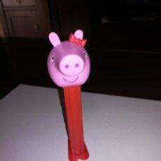 Dispensador Pez: DISPENSADOR DE CARAMELOS PEZ PEPPA PIG. Lote 222242467